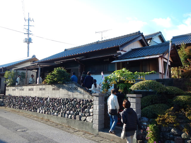 香北町白石の空き家