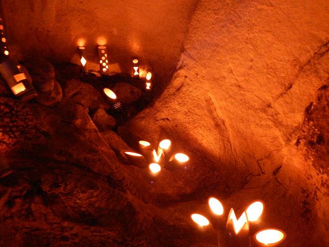 龍河洞キャンドルナイト2