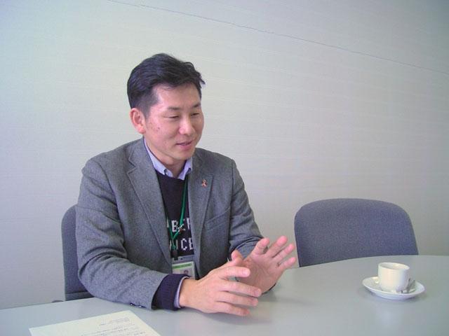 香美市社会福祉協議会の徳弘さん