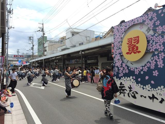 高知工科大学よさこい踊り子隊2014