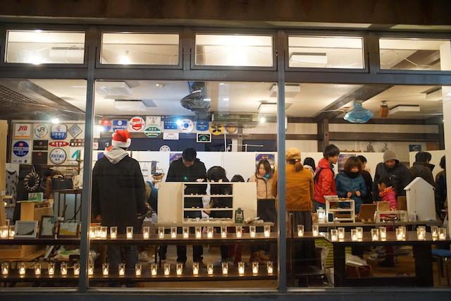 龍河洞キャンドルナイト2014 雑貨屋