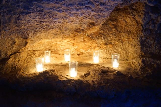 龍河洞キャンドルナイト2014 キャンドル