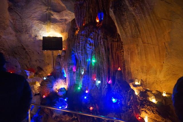 龍河洞キャンドルナイト2014 LED