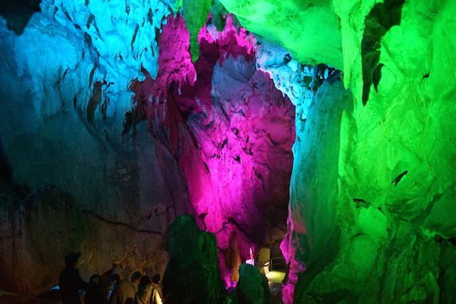 龍河洞キャンドルナイト2014 洞内1