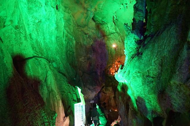 龍河洞キャンドルナイト2014 洞内2