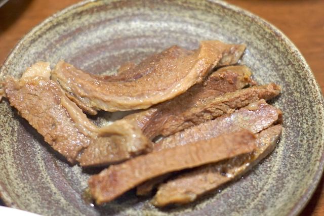猪肉料理完成