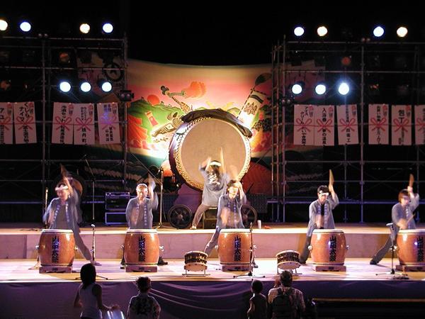 土佐山田まつり(山田太鼓演奏)-2005