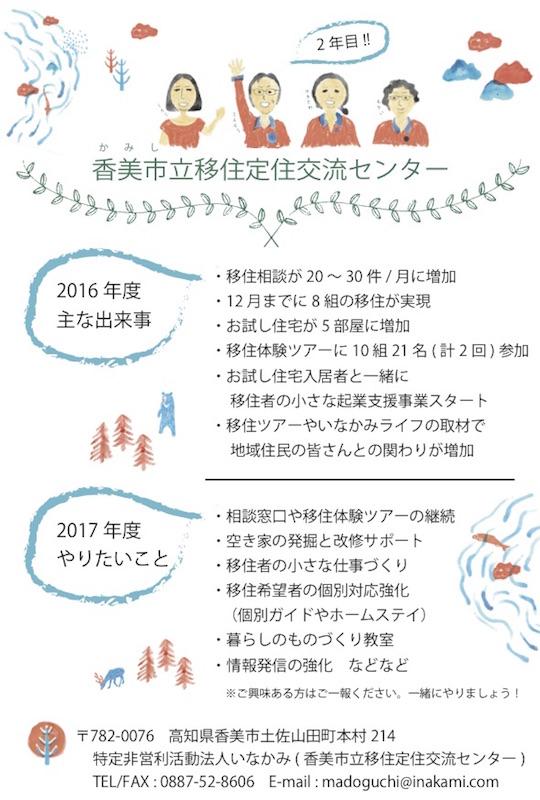 2017年いなかみ年賀状