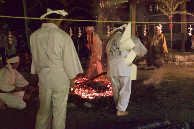 不動火祭り