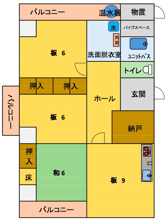 セトル成矢平面図