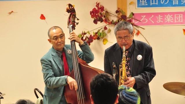 しろくま楽団里山の音楽会3