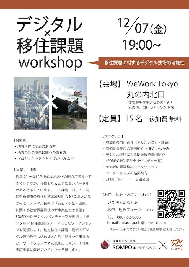 デジタル×移住課題workshop