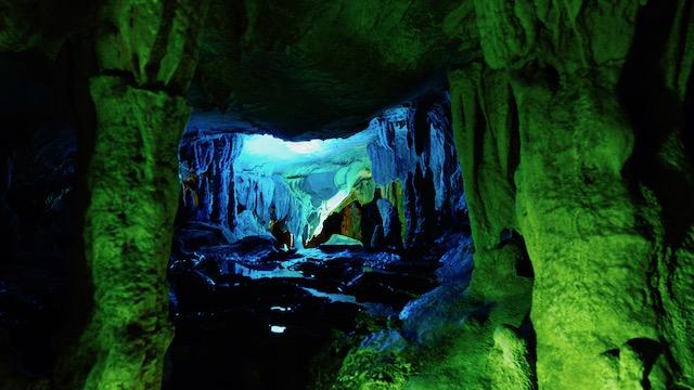 龍河洞-洞内-サボテンの丘1