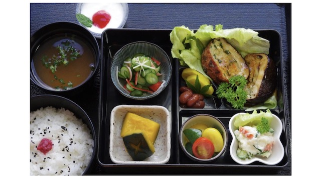 韮生米定食写真
